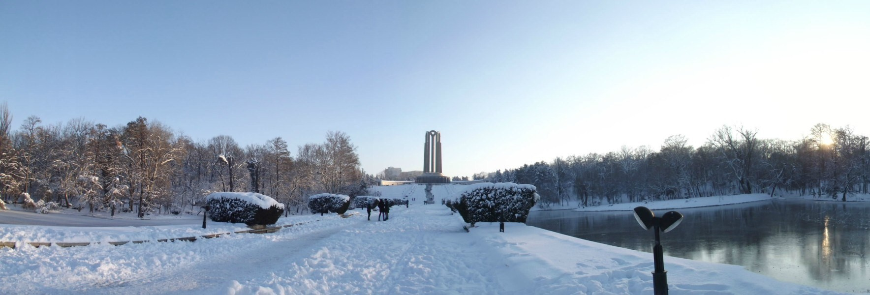 parcul carol iarna